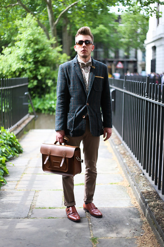 Street Style - Nathan, London Collections: Men