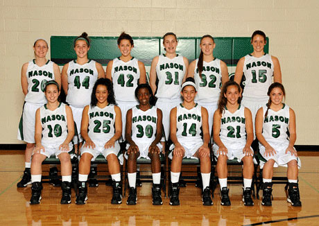 Mason girls' varsity basketball