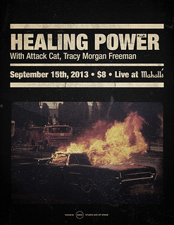 Healing Power / Attack Cat / Tracy Morgan Freeman poster