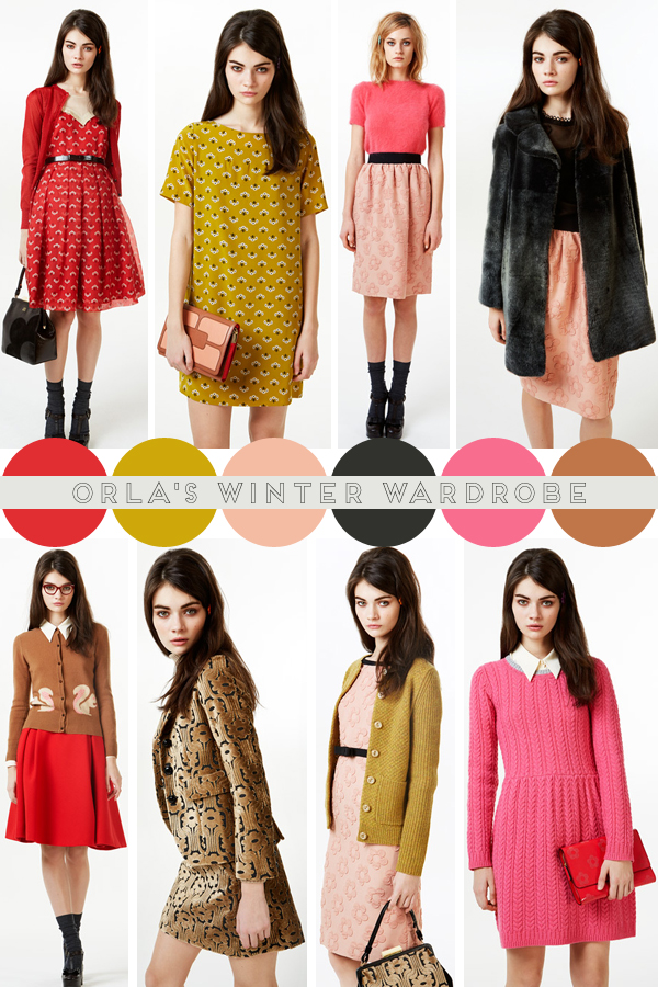 Orla Kiely, Autumn Winter 2013 / favourites picked by Emma Lamb