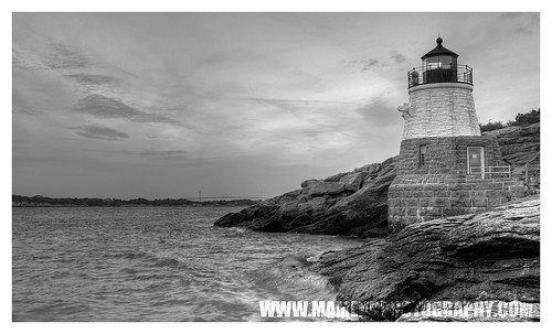 Castle Hill Lighthouse, Newport RI by markv20
