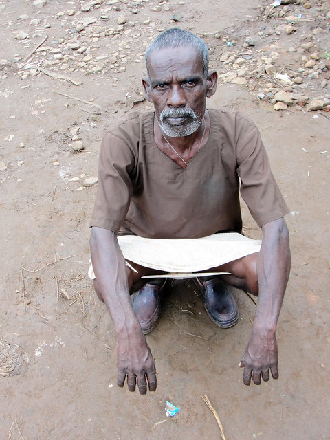 15 acres of Sukhal Singh's land got submerged in the back waters of the Bargi dam. He is now landless and works on a daily wage basis.
