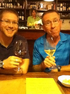 At little wine bar near Rome apartment, Monti DOC