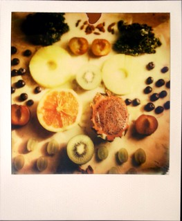 Food photography with Polaroid 2
