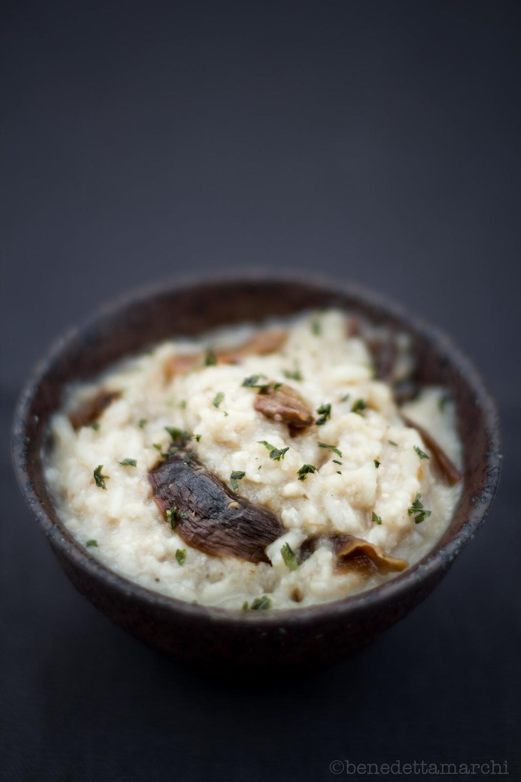 Crema di riso ai funghi porcini-1