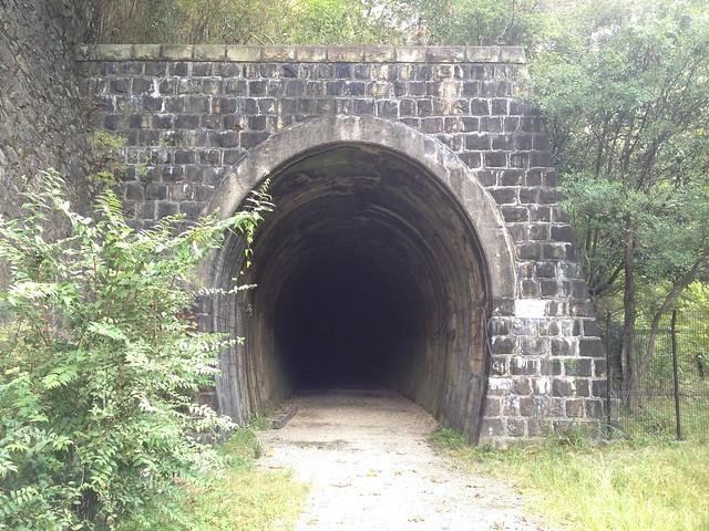 旧福知山線廃線跡-トンネル入口