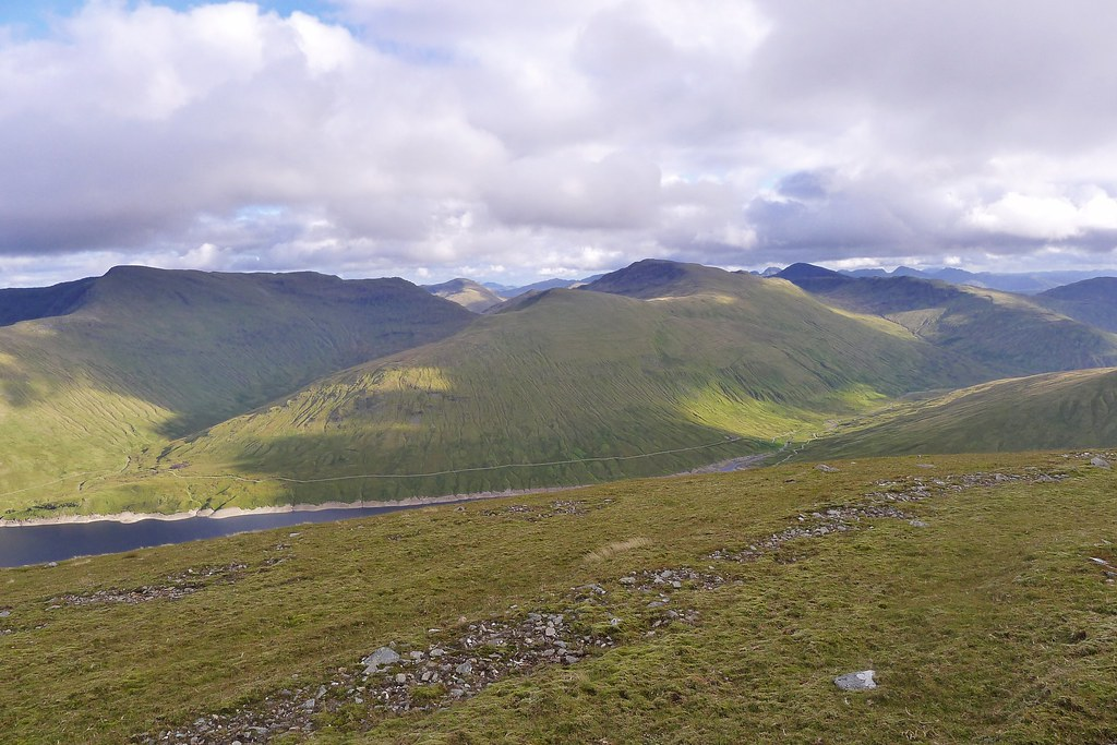 Glen Lochay hills from Beinn Mhanach