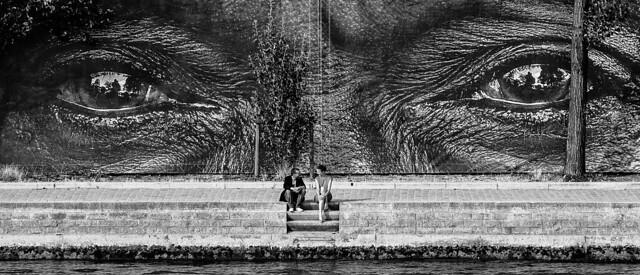 Le voyeur, par Franck Vervial