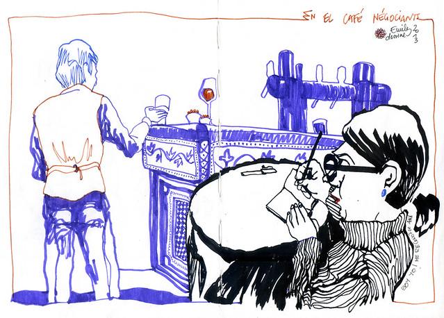 Ana Garcia de Pablo - en Lyon Café Négociants