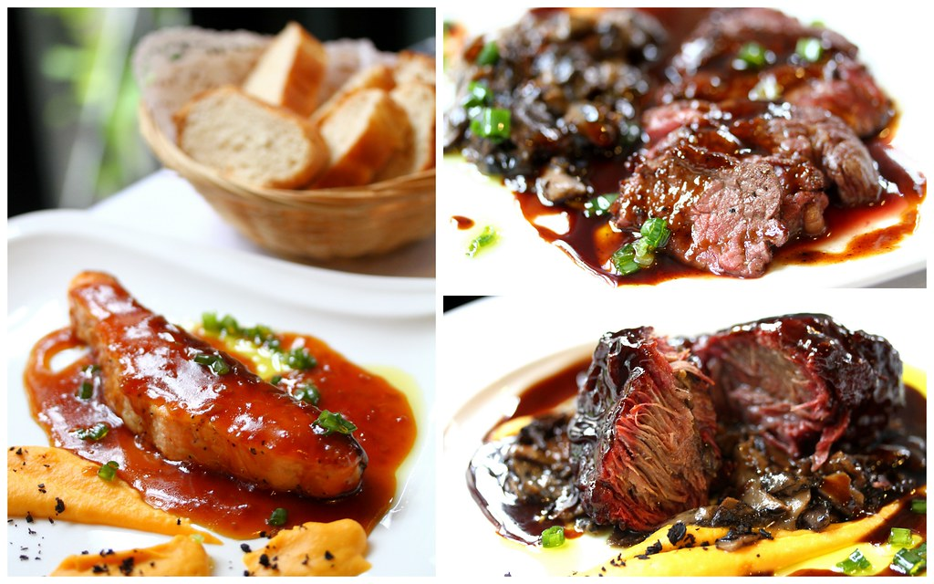 George Town Cafes: Cafe 55's Beef Tenderloin with Roasting Jus