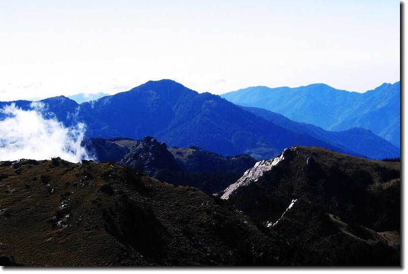 庫哈諾辛山(From向陽山) 1