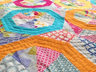 Spinning Stars of Quilt Blocks