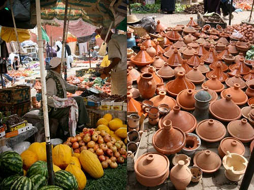 Market in the Medina, Marrakech