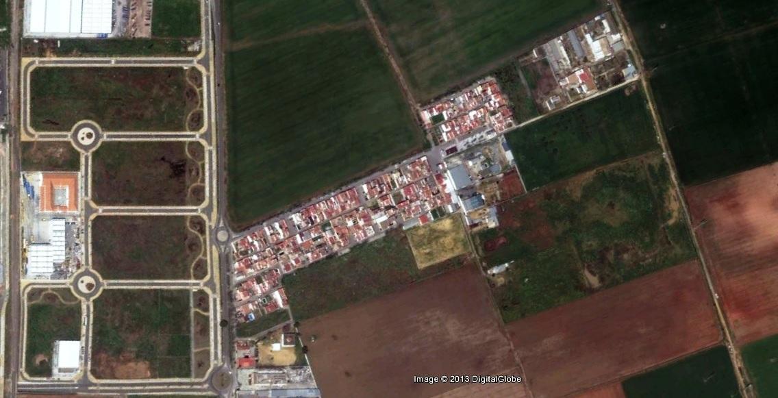 después, urbanismo, foto aérea,desastre, urbanístico, planeamiento, urbano, construcción, Sevilla