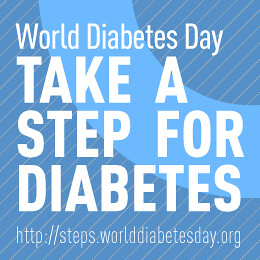Take a step for DIABETES....
