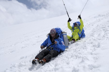 Neviditelná hora - film o slepém horolezci