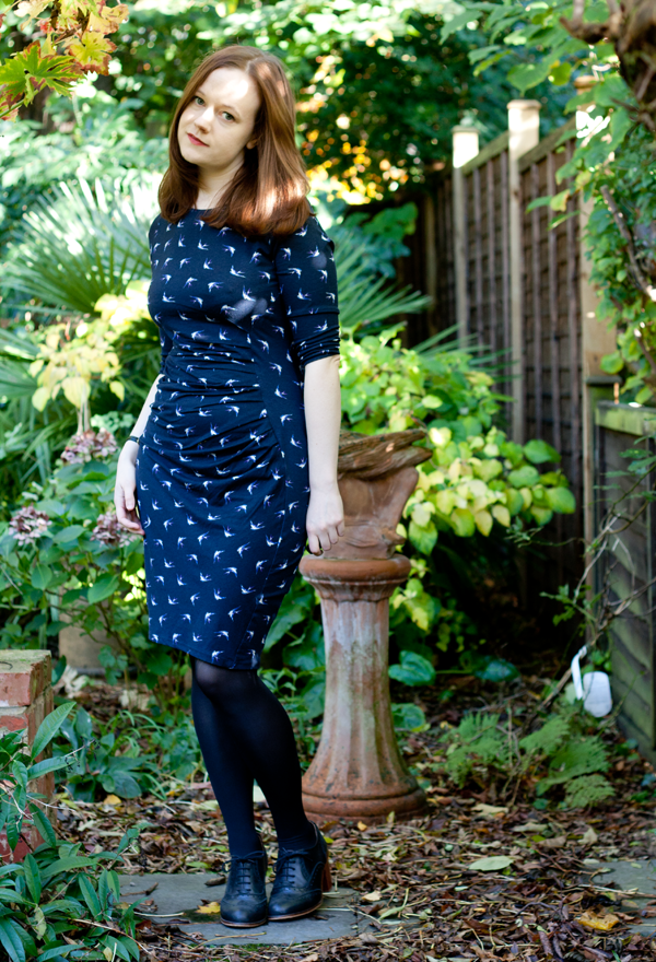 warehouse-bird-print-dress5