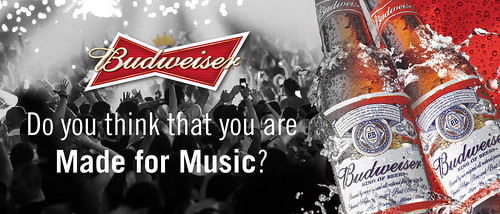 Budweiser Made For Music 2013