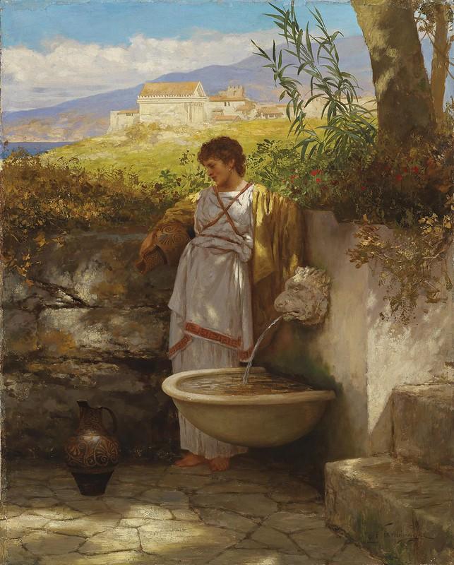 Henryk Siemiradzki - Am Brunnen (c.1902)
