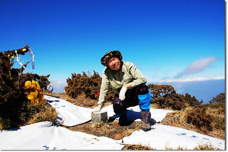 卓社大山山頂 1