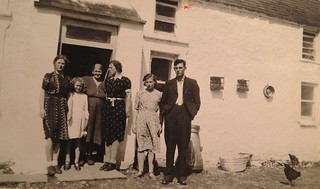 the Mulcahy family in Rathwood, Abington, Co. limerick / Shannon Ireland, 1948