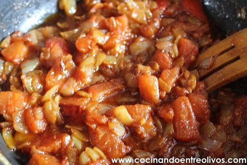 Potaje de garbanzos y calabaza www.cocinandoentreolivos (19)