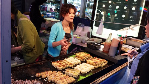 Chinatown Night Market: Grilled Dumplings On Sticks