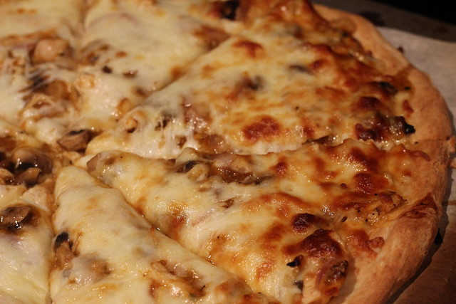 Chicken Marsala Pizza