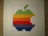 Crochet Apple logo 4 - blocked