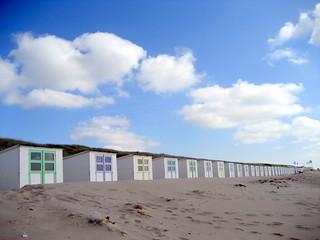 Noch eine Strandhausreihe