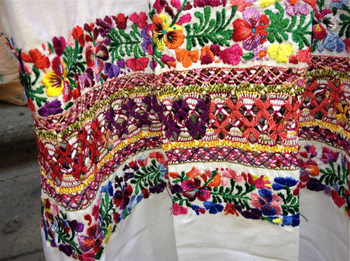 Embroidered huipil 2
