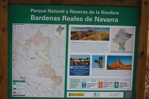 cartel Bardenas Reales