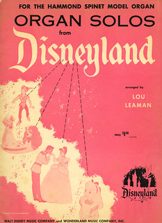 DISNEYLAND Organ Album (1955)