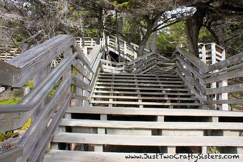 Lovely stairs in Monterey