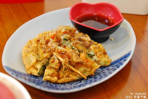 地雷菜-蝦餅