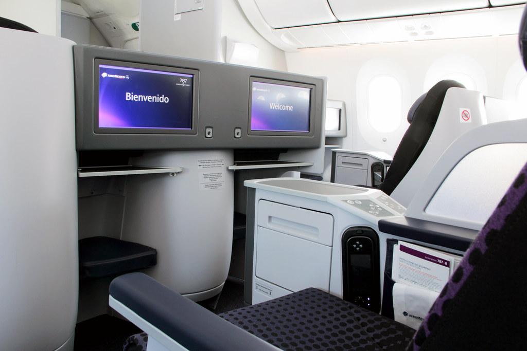 Aeromexico 787 8 business class for Interior 787 aeromexico