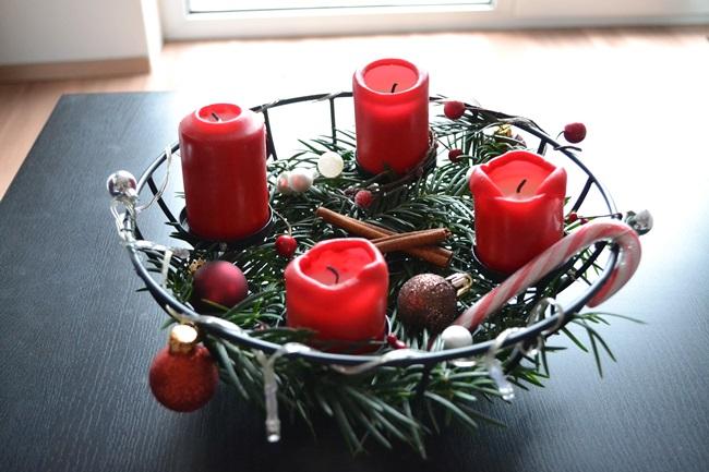 Christmas Adventskranz selbst gemacht (1)
