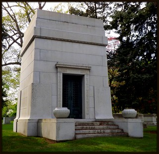 Woodlawn Cemetery: Pfeiffer Mausoleum--Detroit MI