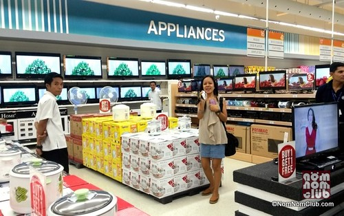 New Appliance section