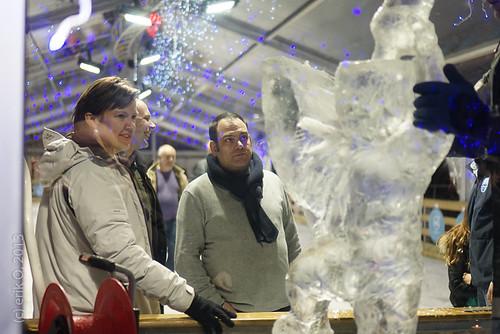 Opening Schaatsbaan Oude Markt Leuven