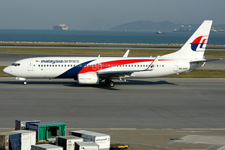 Malaysia Airlines, Boeing 737-800, 9M-MSE, Hong Kong International
