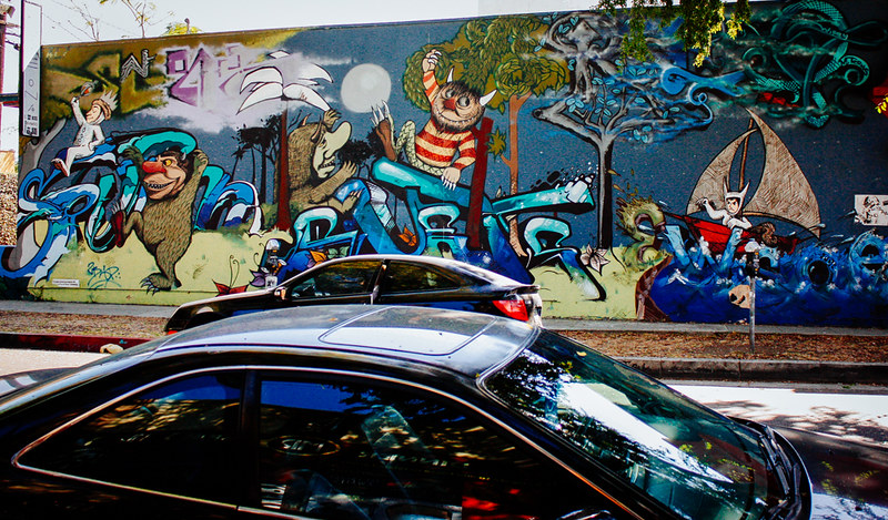 graffiti, los angeles, street art, california,