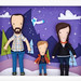 felt family portrait: by eleni creative