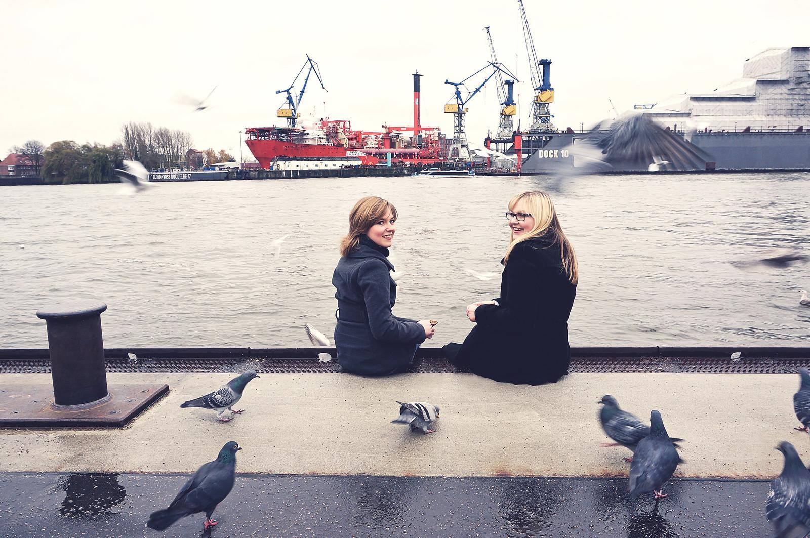 Freundinnen Fotoshooting Hamburg