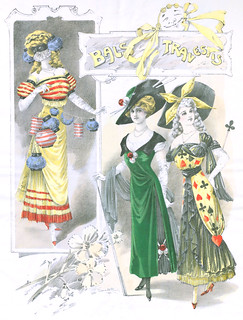 1910,costumes de mascarade