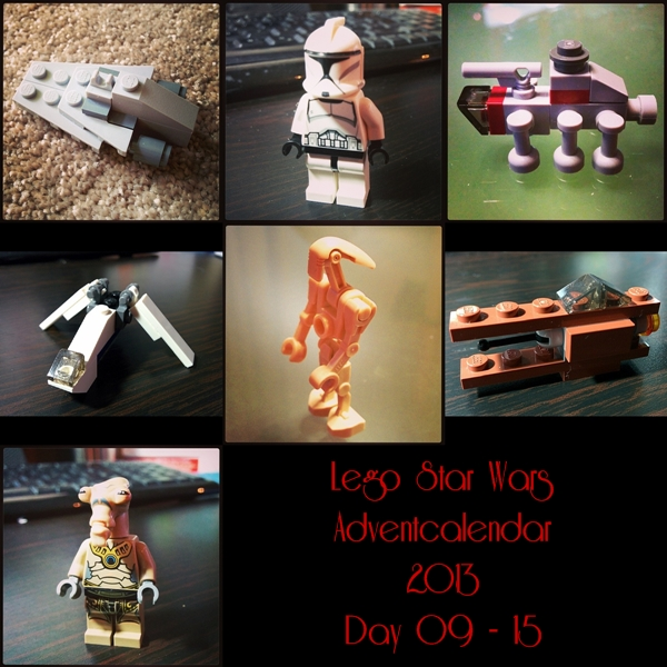 Lego Adventcalendar 2013