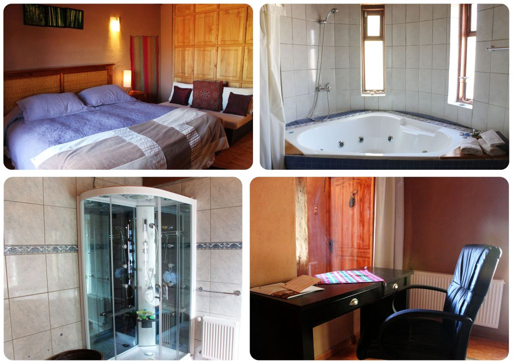 San Pedro De Atacama Atacamadventure room and bathroom