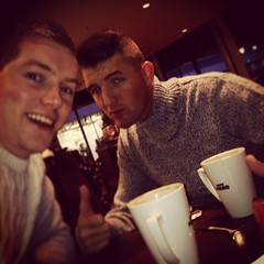 Catching up with the boy from the bay ☕️