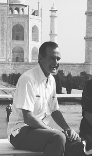 U.S. Vice President George H. W. Bush's visit to India,1984