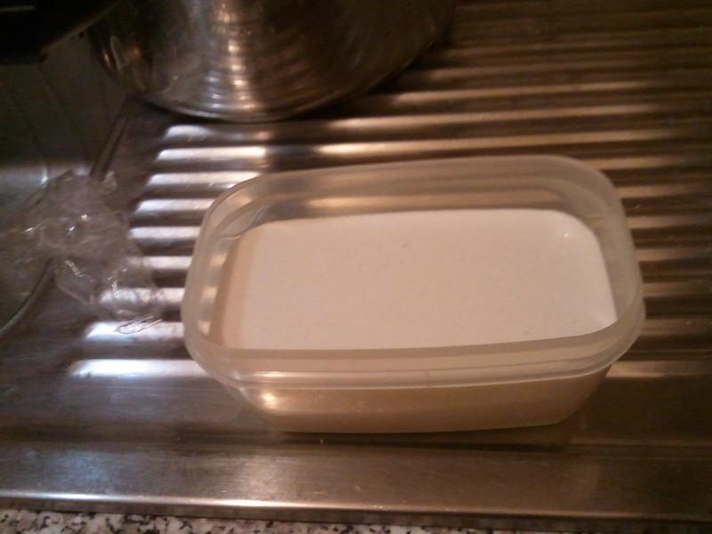 Impasto base seitan  Maglia glutinica da una parte amido dall'altra preparazione